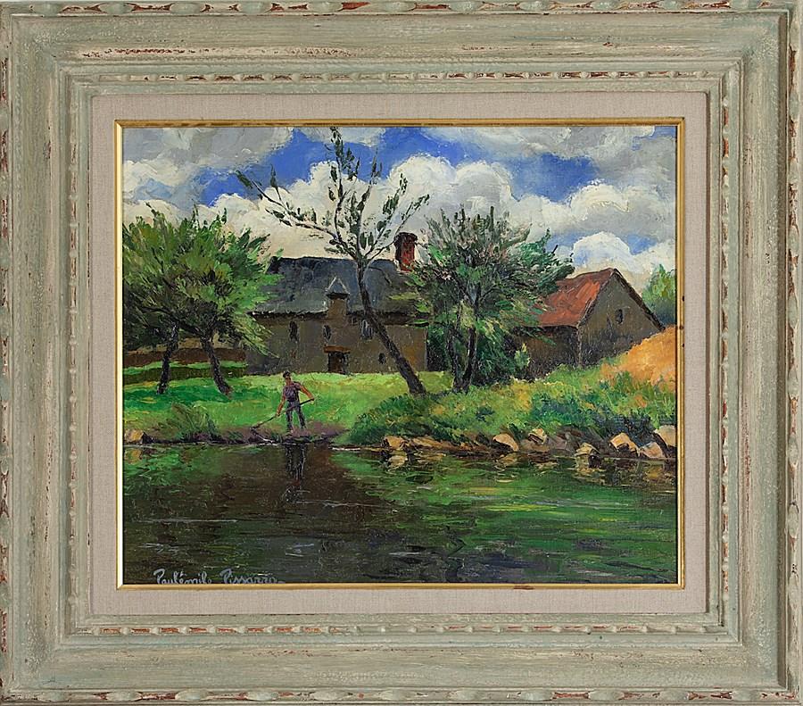Le Faucheur - Paulémile Pissarro (1884 - 1972)