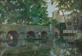 Henri Epstein - River Landscape