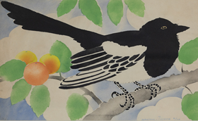 Georges Manzana Pissarro - Magpie