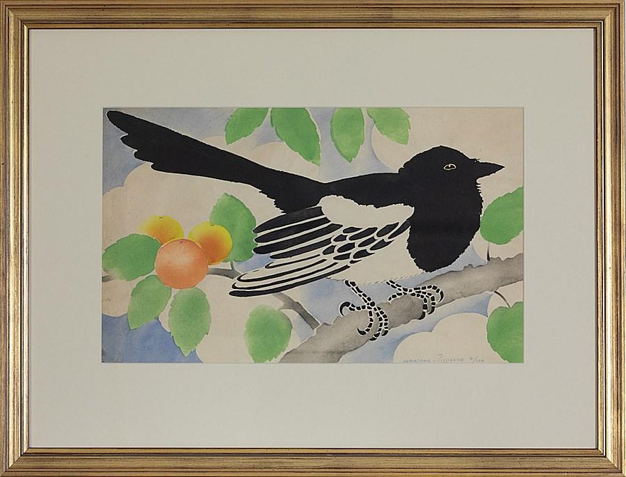 Magpie - Georges Manzana Pissarro (1871 - 1961)