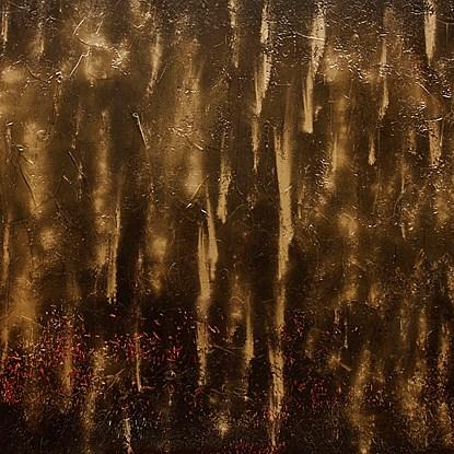Blind folding - Lélia Pissarro, Contemporary (b. 1963)