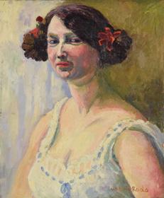 Ludovic-Rodo Pissarro - Portrait of a Woman
