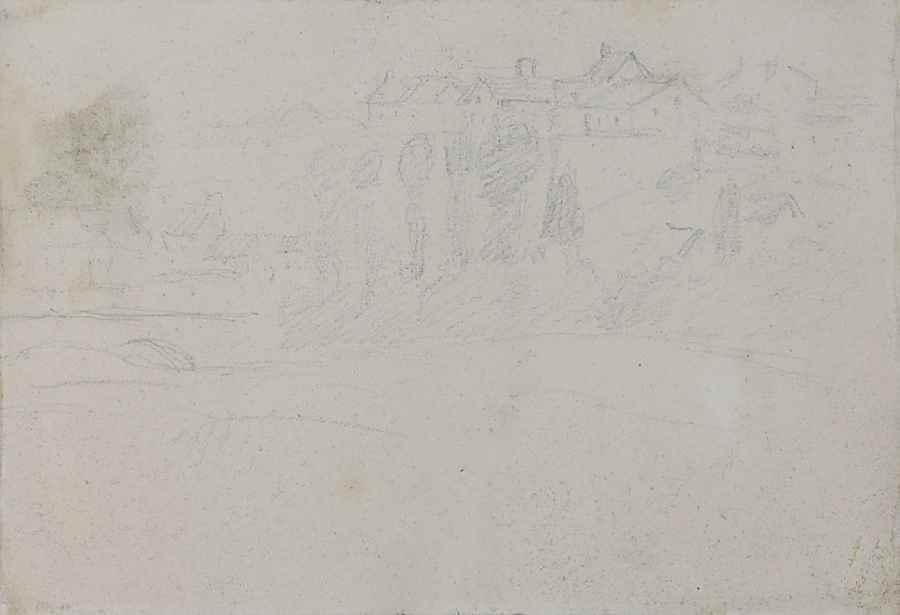 Deux paysannes dans un champ - Camille Pissarro (1830 - 1903)
