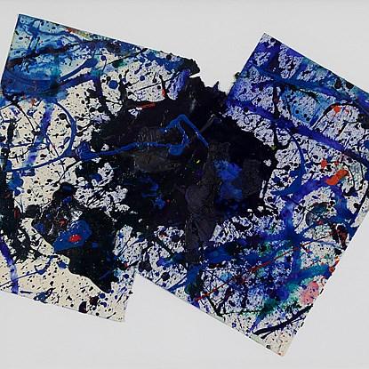 Composition - Sam Francis (1923 - 1994)