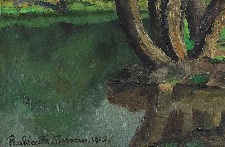 L'Arbre au Bord de l'Eau - Paulémile Pissarro (1884 - 1972)