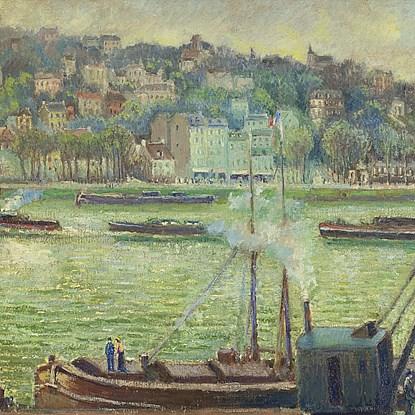 La Grue St Cloud - Georges Manzana Pissarro (1871 - 1961)