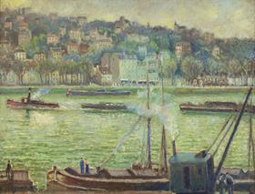 Georges Manzana Pissarro - La Grue St Cloud
