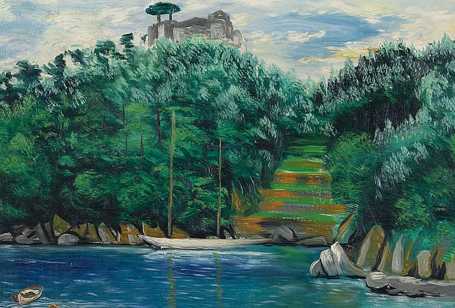 Le Port de Portofino - Moïse Kisling (1891 - 1953)