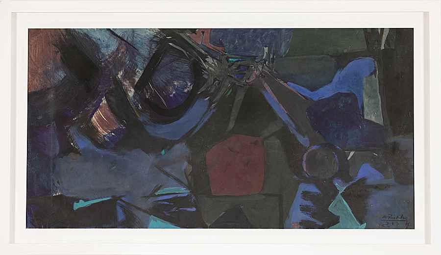 Composition - Arikha Avigdor (1929 - 2010)