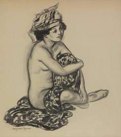 Georges Manzana Pissarro - Créole au turban