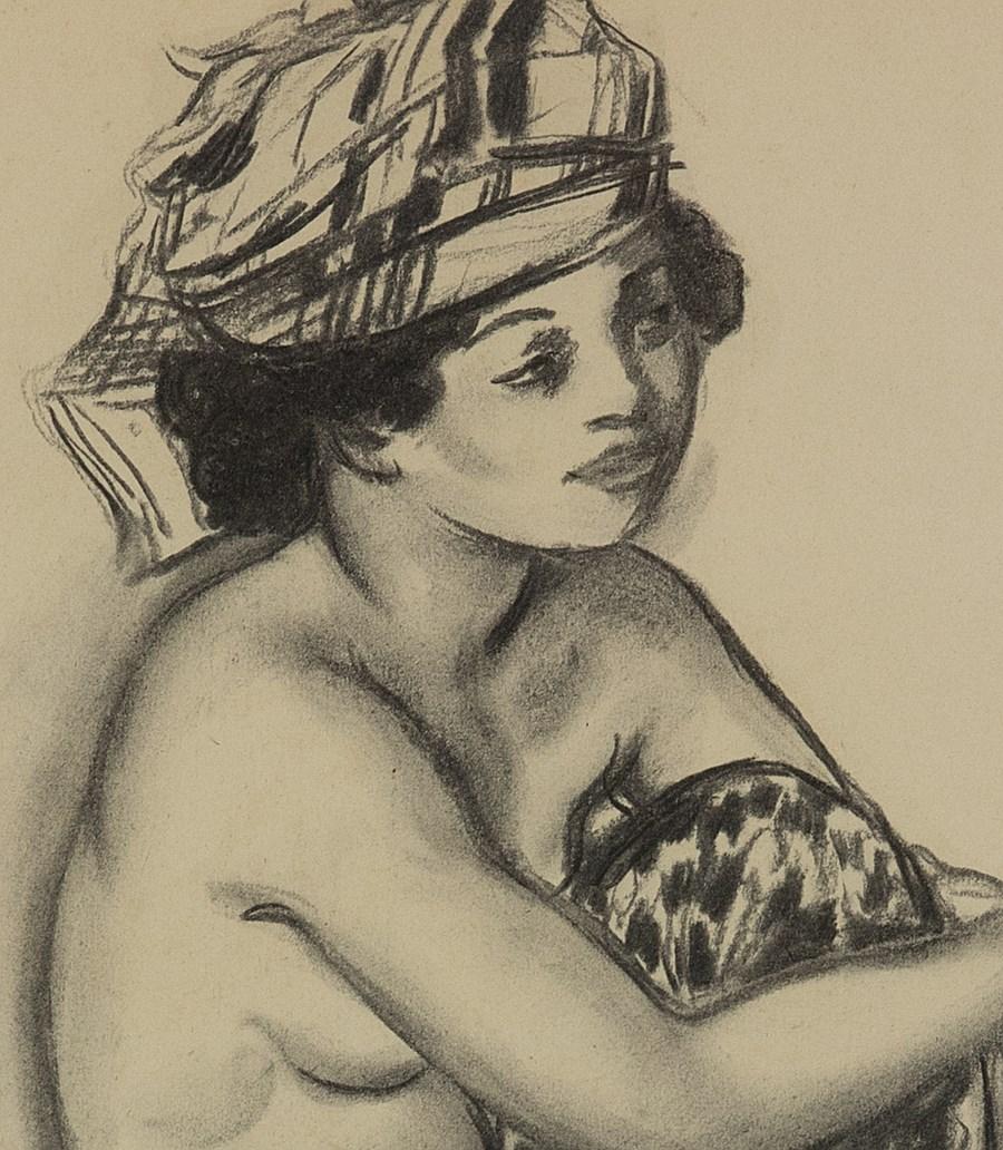 Créole au turban - Georges Manzana Pissarro (1871 - 1961)