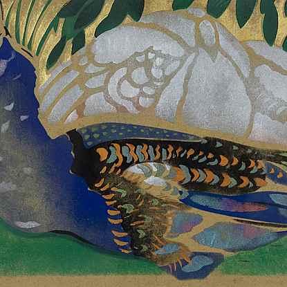 Peacock - Georges Manzana Pissarro (1871 - 1961)