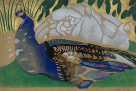 Georges Manzana Pissarro - Peacock