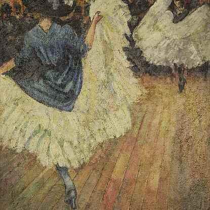 French Cancan - Ludovic-Rodo Pissarro (1878 - 1952)