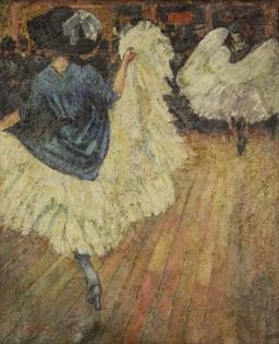 Ludovic-Rodo Pissarro - French Cancan