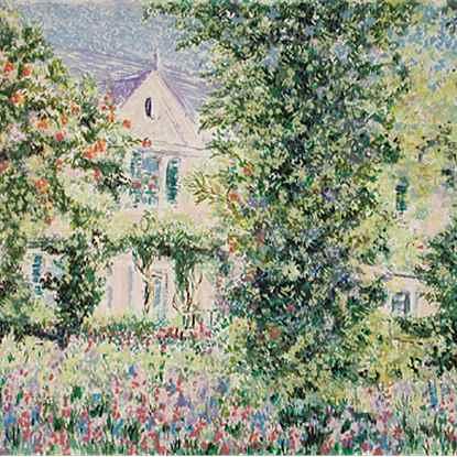 Series - Monet's House<br /> - Lélia Pissarro, Figurative (b. 1963 - )