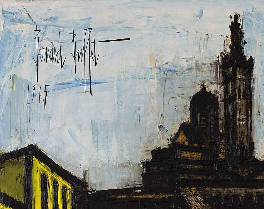 Marseille, Notre Dame de la Garde - Bernard  Buffet (1928 - 1999)