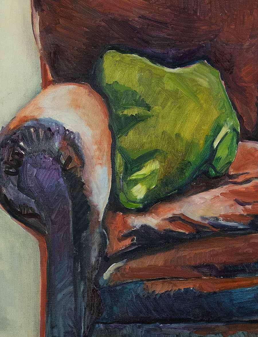 The Armchair - Annabel Daou (Pissarro) (1967 - )