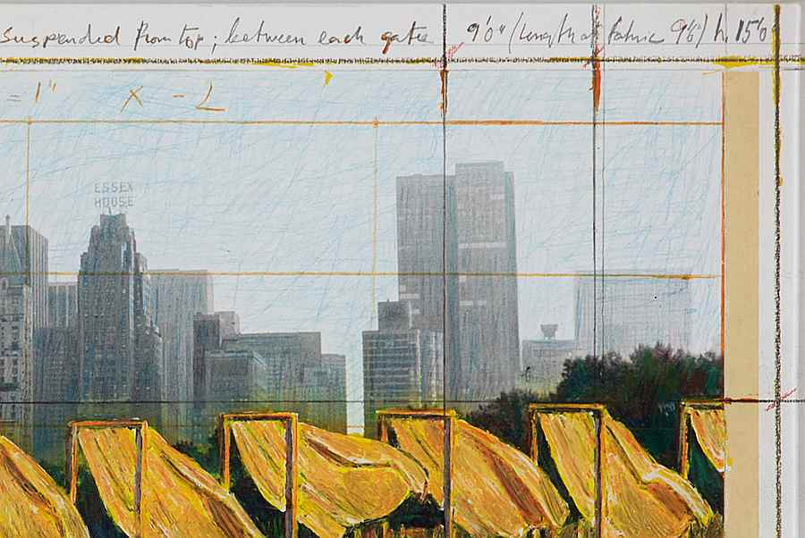 The Gates, Project for Central Park, New York City - Christo (1935 - 2020)