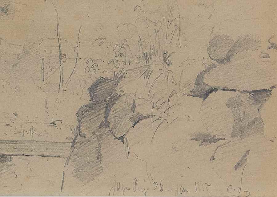 Paysage, Venezuela - Camille Pissarro (1830 - 1903)