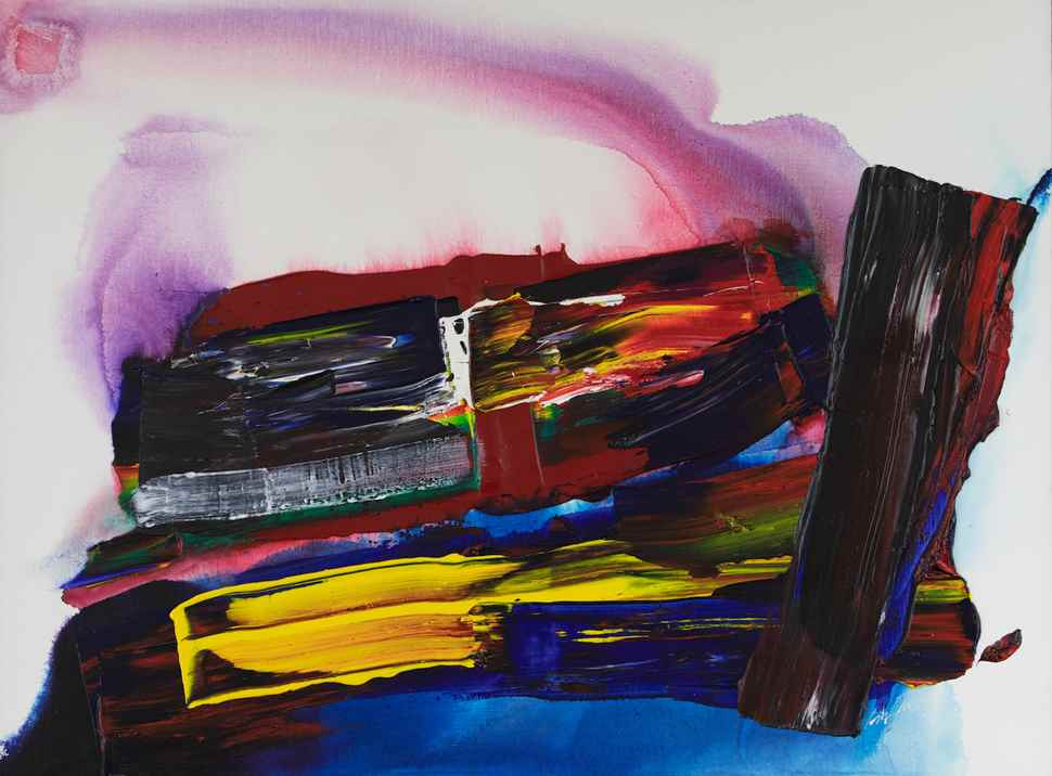 Phenomenon East of the River - Paul Jenkins (1923 - 2012)