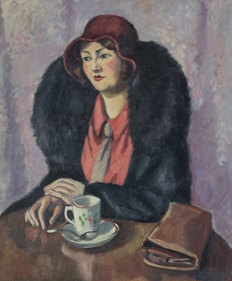 Ludovic-Rodo Pissarro - Femme à la cravatte