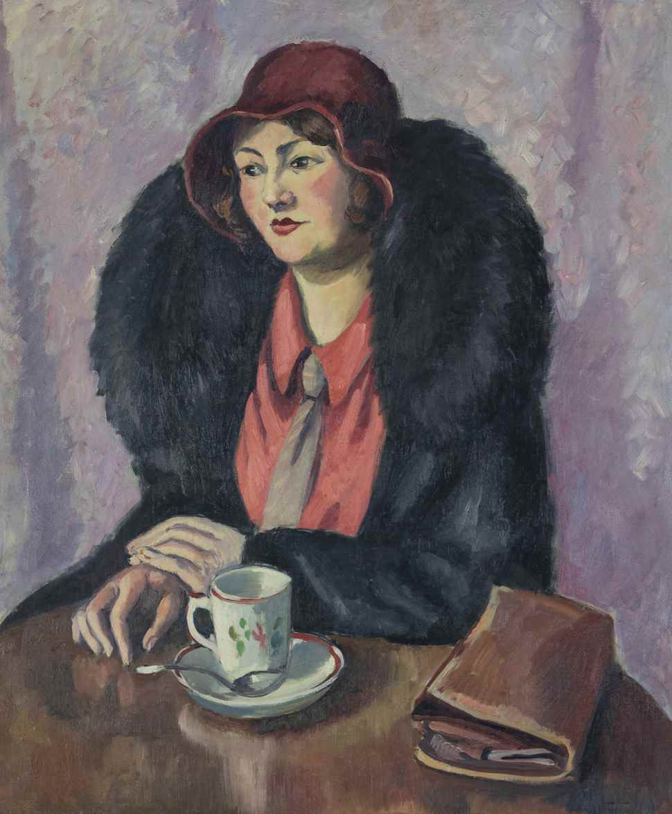Femme à la cravatte - Ludovic-Rodo Pissarro (1878 - 1952)