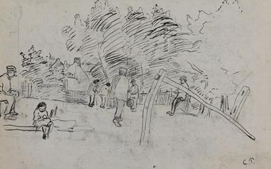 Camille Pissarro - Auvers-sur-Oise Étude