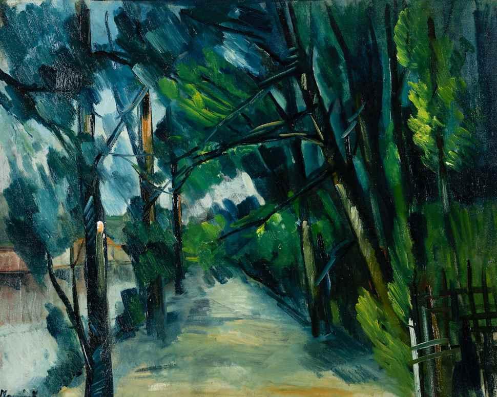 Sentier au bord d'une rivière - Maurice de Vlaminck (1876 - 1958)