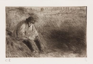 Camille Pissarro - Paysan, Le Père Melon