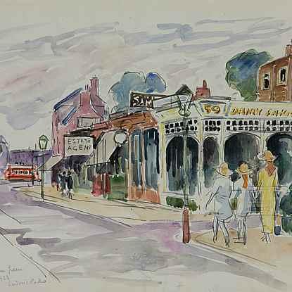 Turnham Green - Ludovic-Rodo Pissarro (1878 - 1952)