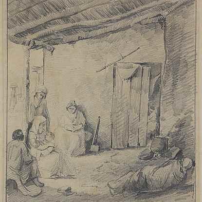 Un Rancho en Venezuela - Camille Pissarro (1830 - 1903)