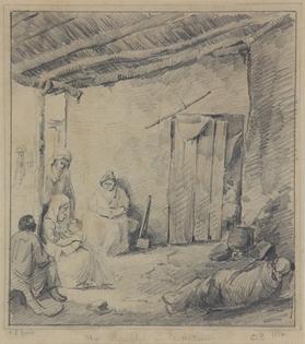 Camille Pissarro - Un Rancho en Venezuela