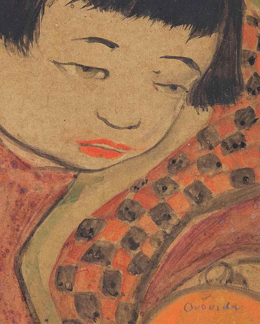 Baby's Head - Orovida Pissarro (1893 - 1968)