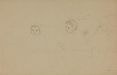 Camille Pissarro - Étude de Minette