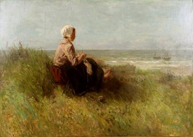 Jozef Israëls - Waiting