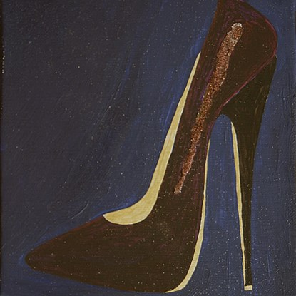 Stiletto 1 - Lélia Pissarro, Contemporary (b. 1963)