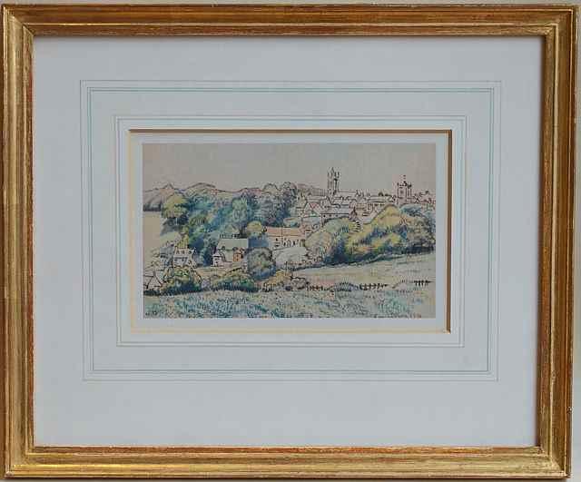 Shaftesbury - Lucien Pissarro (1863 - 1944)