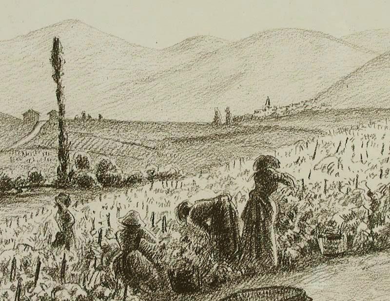 Harvesting - Ludovic-Rodo Pissarro (1878 - 1952)