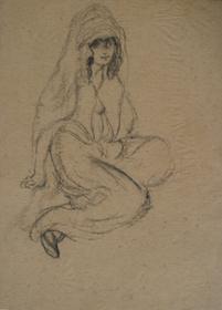 Georges Manzana Pissarro - Oriental Woman