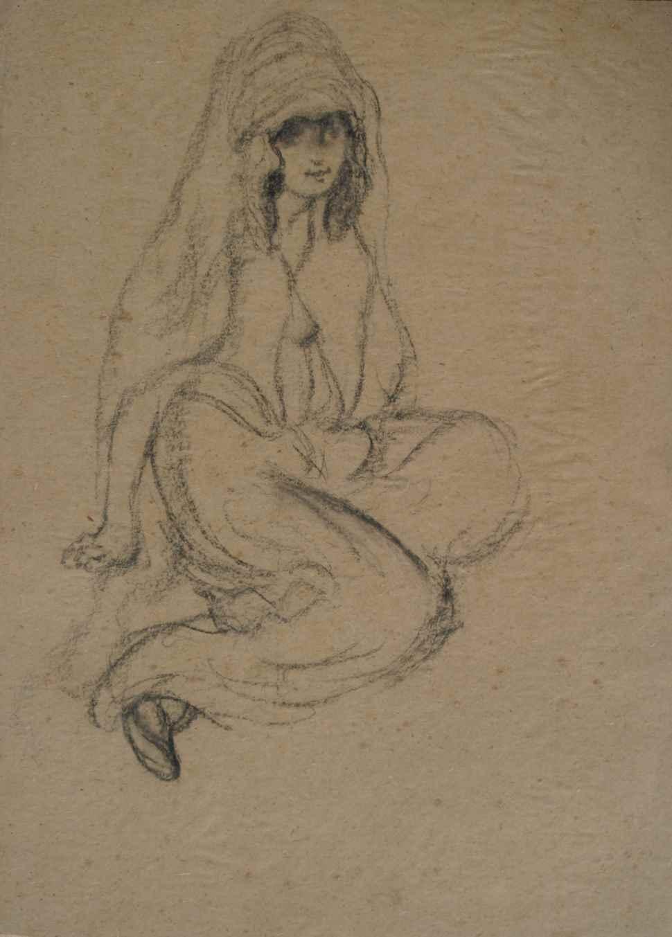 Oriental Woman - Georges Manzana Pissarro (1871 - 1961)