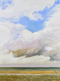Hugues Pissarro dit Pomié - Banc de Sable - Arromanches