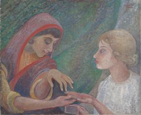 Orovida Pissarro - The Fortune Teller