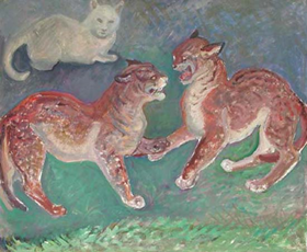 Orovida Pissarro - Caterwaul