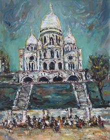 Itzhak Frenkel-Frenel - Sacré-Coeur