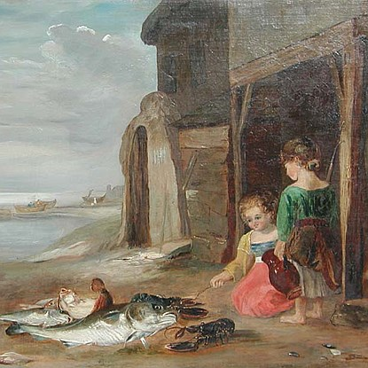 After the Catch - Attributed to William Collins