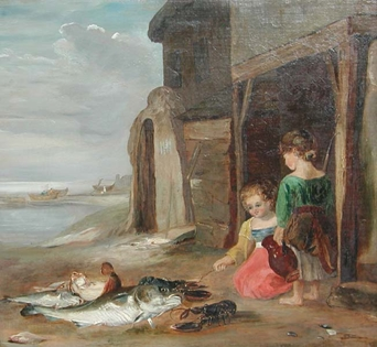 William Collins (Attributed to) - After the Catch