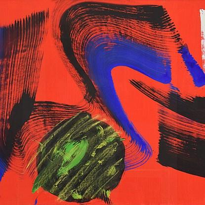 Composition Abstraite  - Gérard Schneider (1896 - 1986)