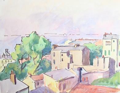 Ludovic-Rodo Pissarro - City View