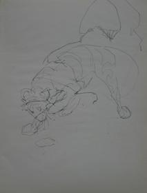 Orovida Pissarro - Study of Crouching Tiger